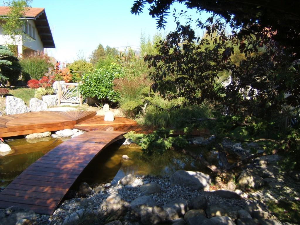 Bassin et terrasse ipe sur Saint Jorioz